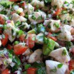 Севиче – перуанская закуска из рыбы, рецепт закуски из рыбы.