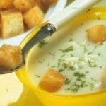 Суп с цветной капустой — рецепт молочного супа