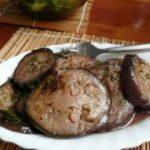 Жарено-маринованные баклажаны по-итальянски — рецепт