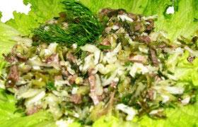Закуска по-казахски — рецепт мясной закуски