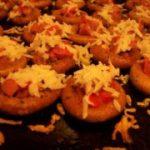 Сушки с начинкой «Закуска для party» — рецепт