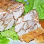 Куриная ветчина по-домашнему (в тетрапаке) – пошаговый фоторецепт