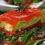 Мильфей из помидоров — рецепт