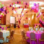 Как украсить зал для проведения мероприятий