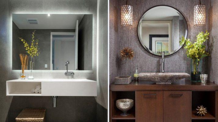 Как выбрать форму зеркала для любой комнаты