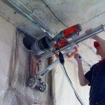 Применение и особенности проведения алмазного бурения бетона