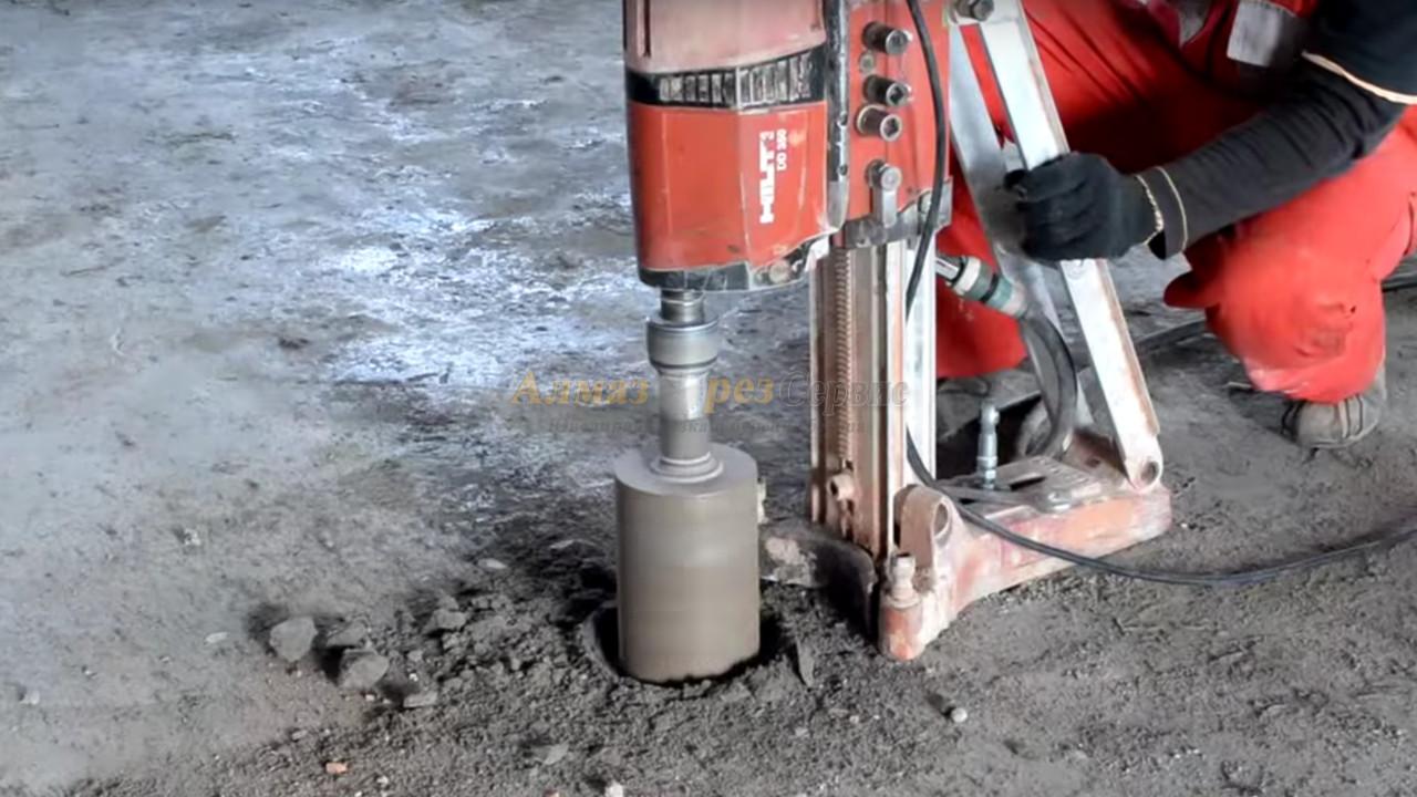 алмазное бурение бетона - Алмазорезсервис