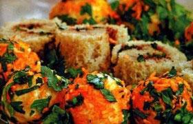 Яркая закуска из сыра, хлеба, паштета —  рецепт двух закусок