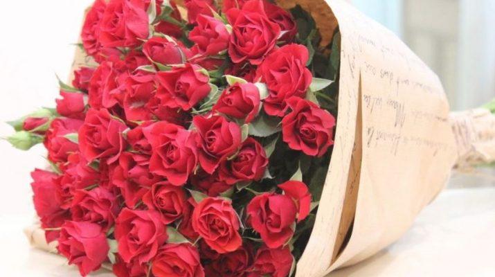 8 поводов подарить букет роз