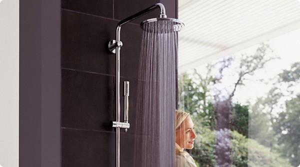 Как выбрать душевую систему для ванной комнаты
