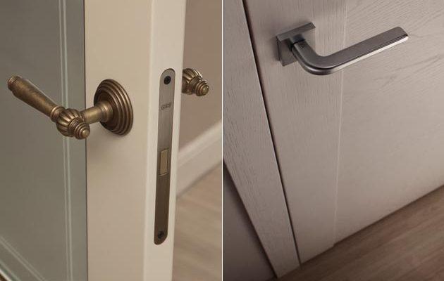 Какая фурнитура нужна для межкомнатной двери