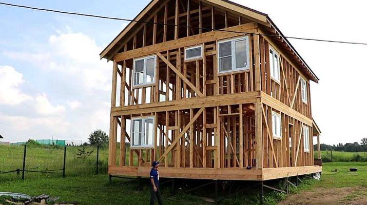 Каркасные дома и их основные особенности