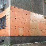 Утепление пеноплексом фасада жилых помещений