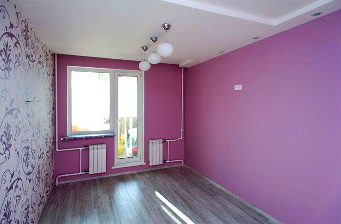 Что нужно учесть перед покраской стен в помещении