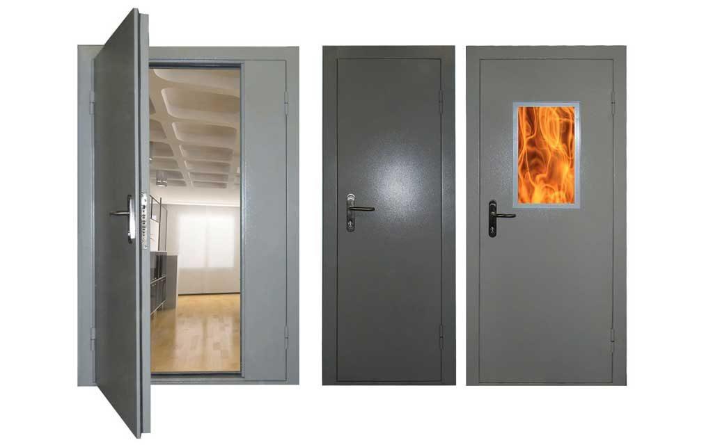 Как подобрать противопожарные двери
