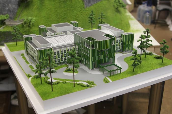 Как создаются архитектурные макеты