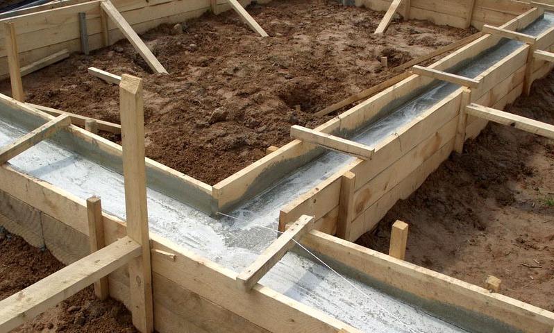 Сколько нужно бетона на фундамент для загородного дома