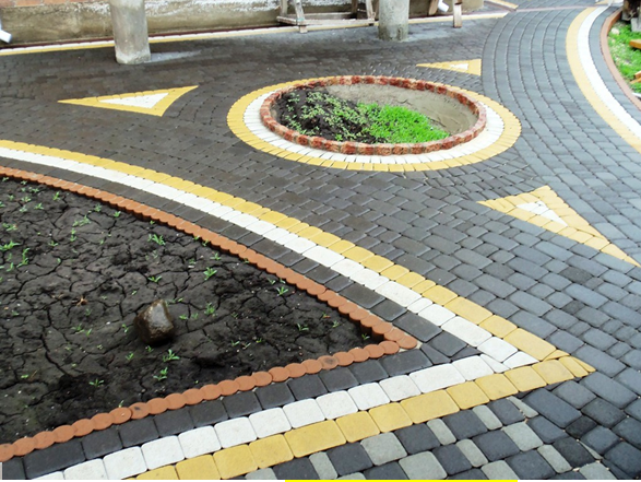 Как использовать тротуарную плитку правильно