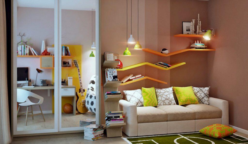 Как правильно выбрать диван для детской комнаты