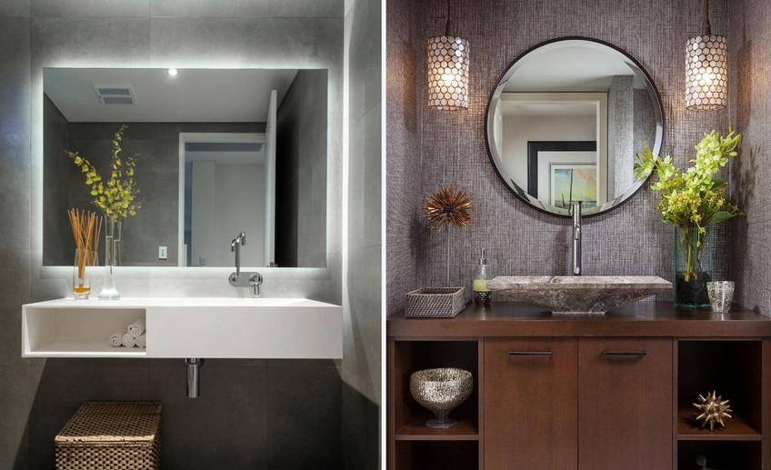 Как правильно выбрать зеркало для ванной