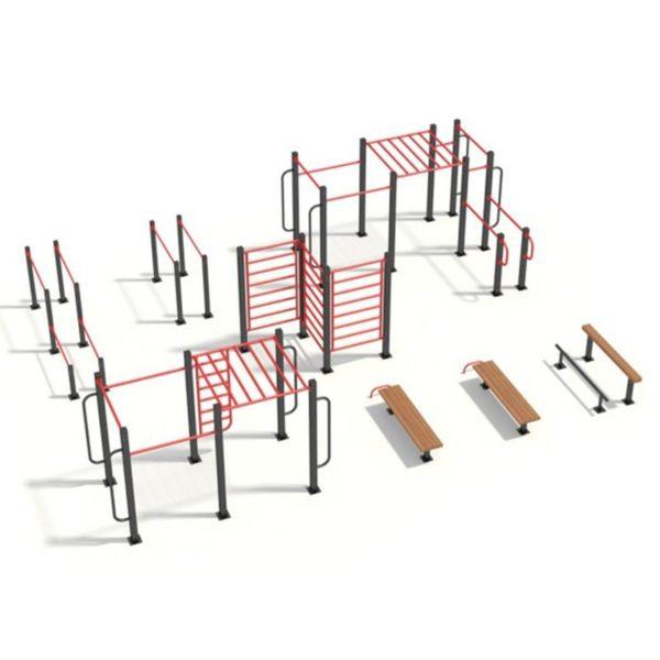 Как сделать спортивные площадки во дворах