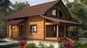 Технические характеристики домов из клееного бруса