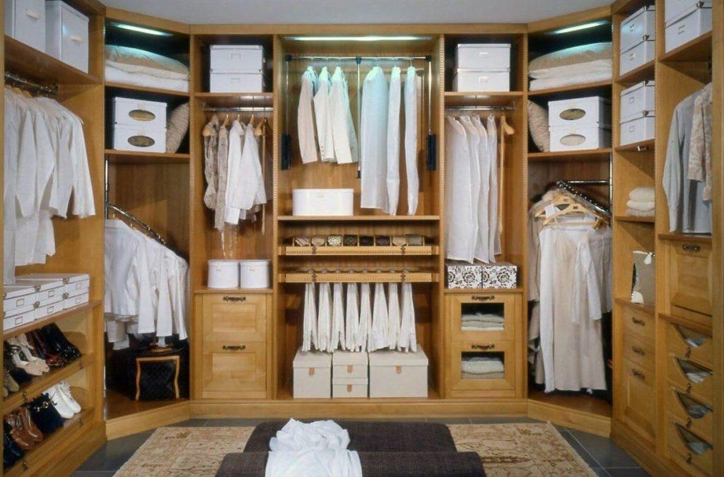 Как сделать красивую и практичную гардеробную