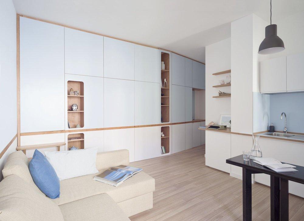 Большие возможности маленькой квартиры