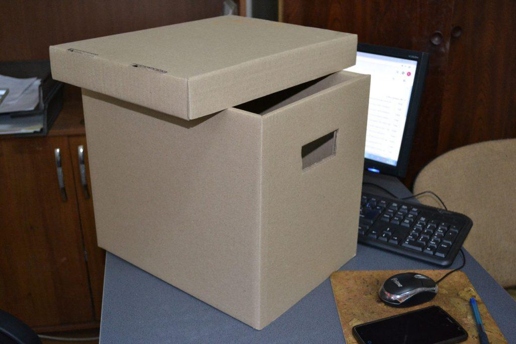 Коробки для документов