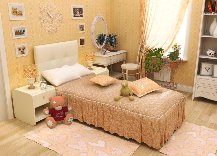 Односпальная кровать – разумный выбор для одного человека