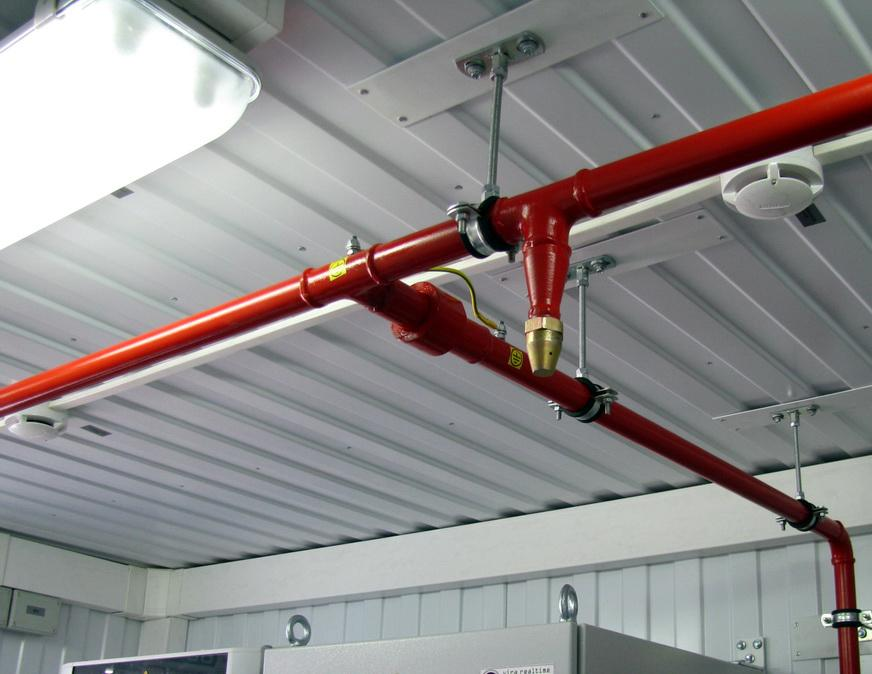 Плюсы спрлинкерной системы пожарной безопасности