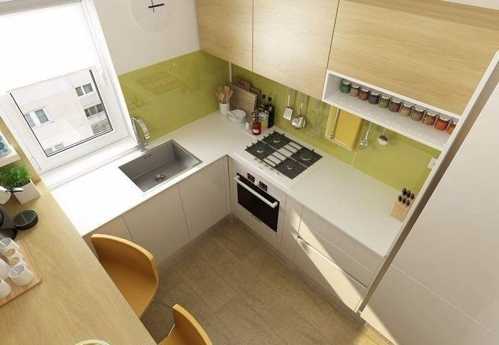 Как правильно оформить маленькую кухню