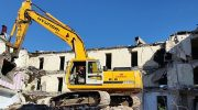 Особенности сноса зданий