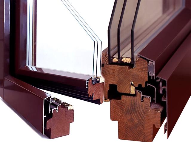 Качество и характеристики дерево-алюминиевых окон