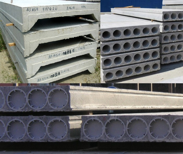 Основные особенности и виды плит перекрытий