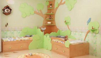 Экологичная детская комната: идеи и рекомендации