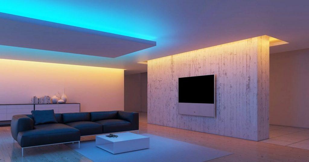 LED-лента и ее применение в интерьере