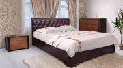 Деревянная кровать — уют вашей спальни