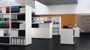 Офисный стеллаж — удобен и практичен