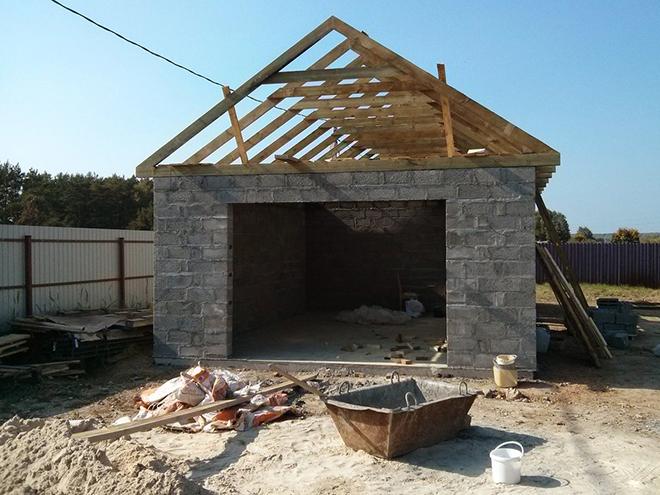 Как правильно выбрать бетон для строительства гаража