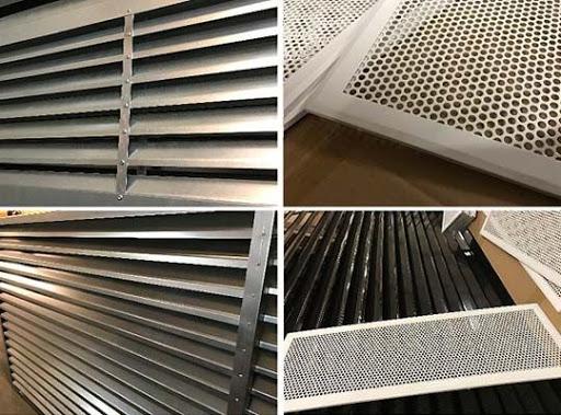 Основные разновидности вентиляционных решеток