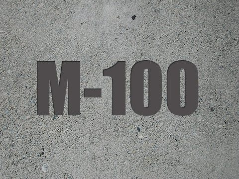Особенности применения и свойства бетона М100