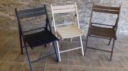 Основные виды складных стульев по материалу изготовления