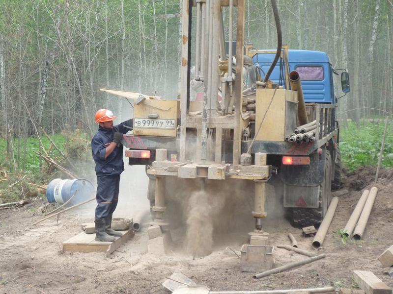 Проведение геологических изысканий под строительство коттеджа