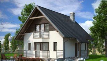 Дом с мансардой – удобство и красота