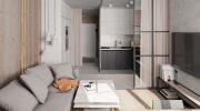 Хитрости ремонта и оформления квартиры-студии