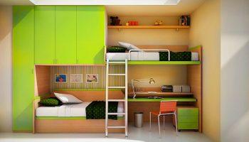 Разновидности двухъярусных кроватей по конструкции