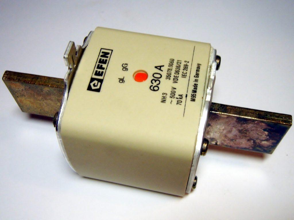 Виды электрических плавких предохранителей