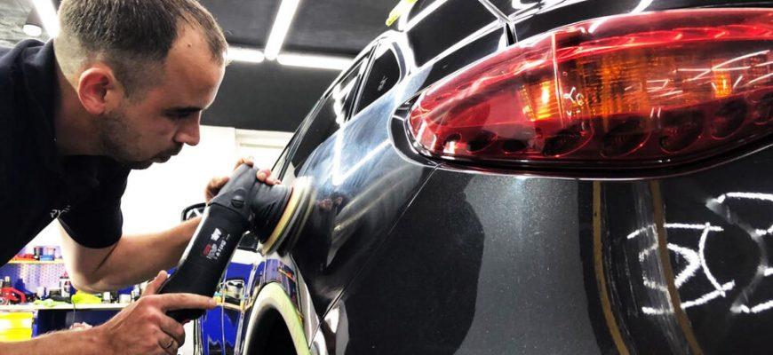 Надежный детейлинг авто в кратчайшие сроки от компании konkretno.kiev.ua
