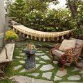 Дизайн двора частного дома (34 фото): создаем красивый экстерьер